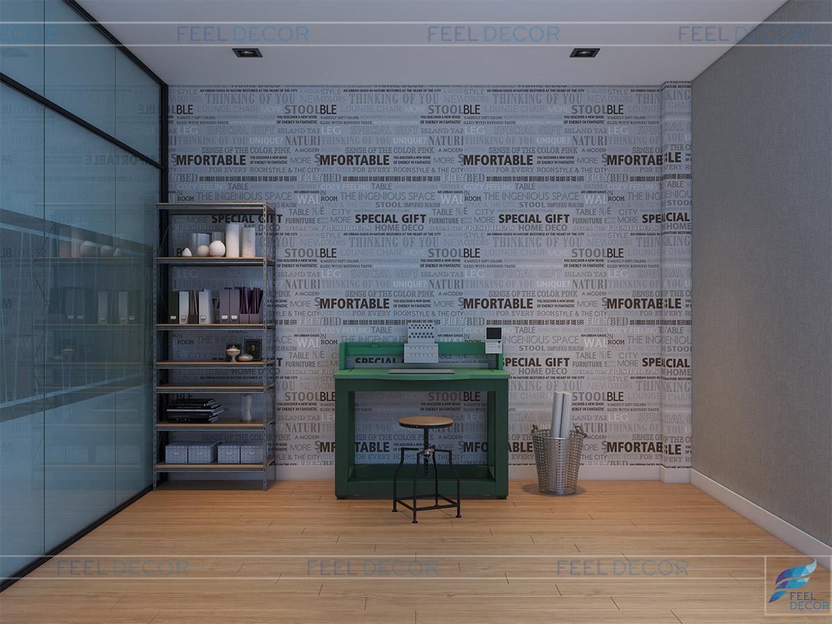 Nội thất nhà phố kết hợp với văn phòng – 380m2