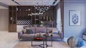 Thiết kế nội thất căn hộ B38.06 chung cư Hoàng Anh Thanh Bình