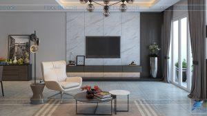 phòng khách căn hộ chung cư Hoàng Anh Thanh Bình