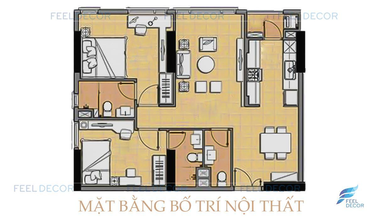 nội thất căn hộ The Era Town chung cư Kỷ Nguyên