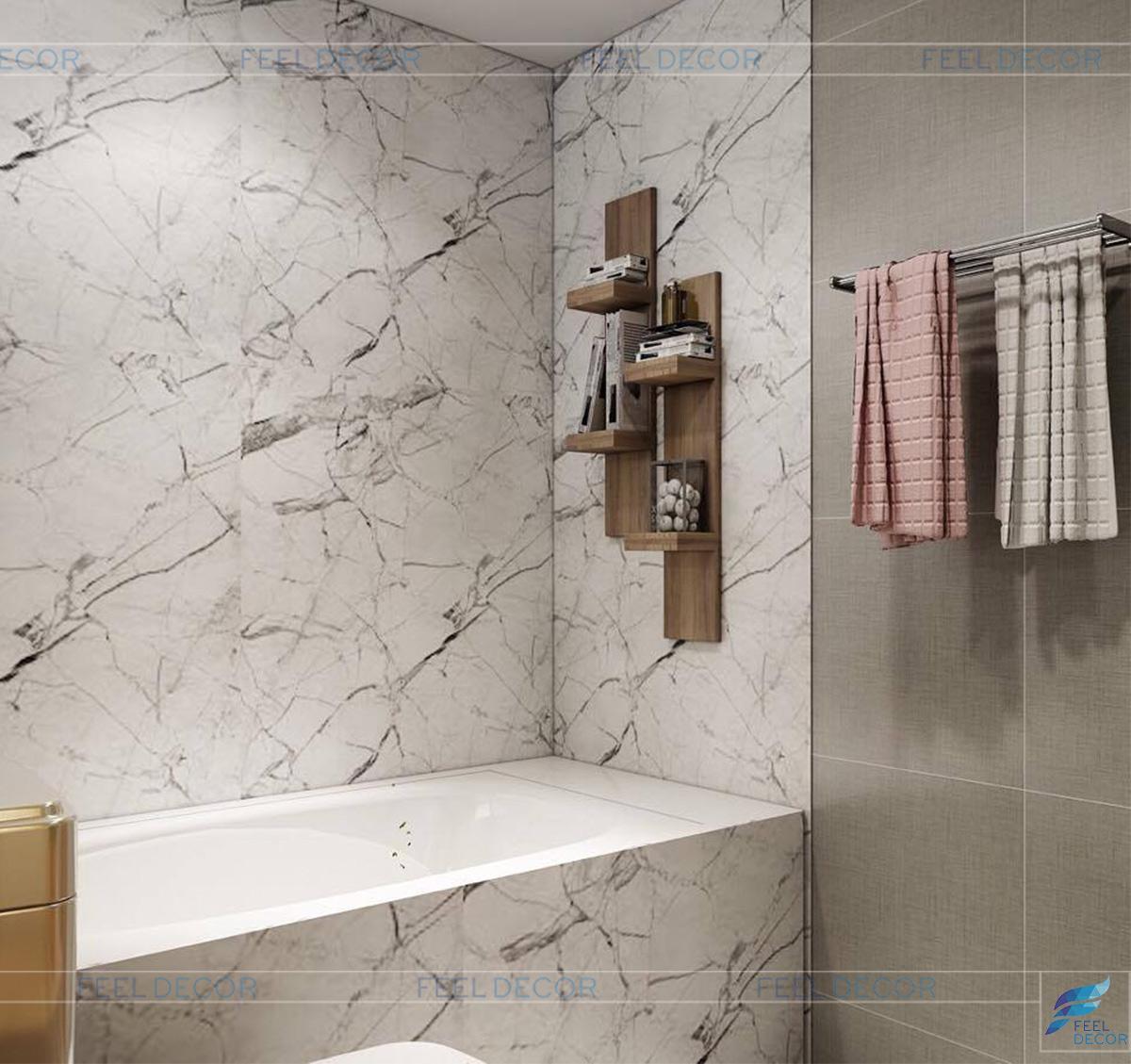 Thiết kế và thi công nội thất căn hộ 110m2 chung cư Sunrise anh Thanh
