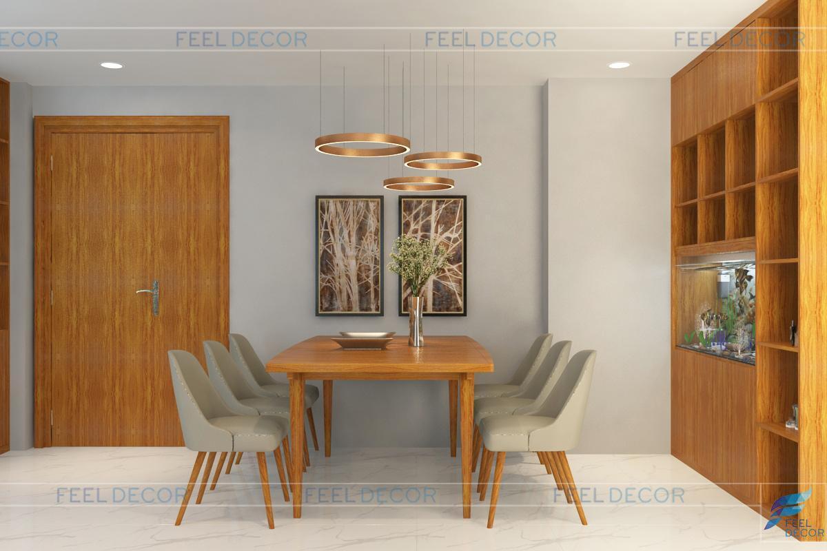 Thiết kế và thi công nội thất căn hộ Green Valley – 133m2