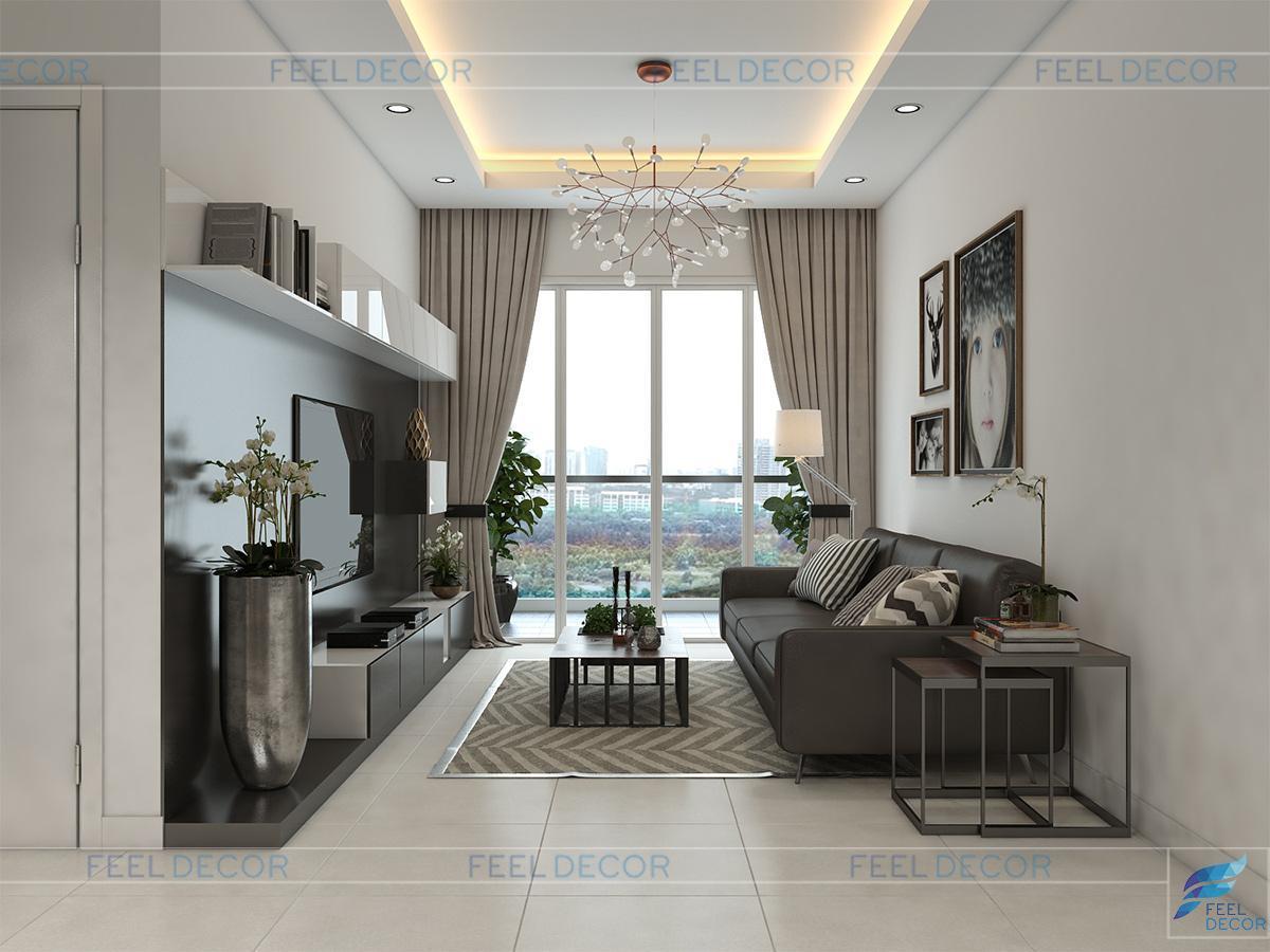 Thiết kế thi công nội thất Chung cư Hoàng Anh Thanh Bình – 150m2