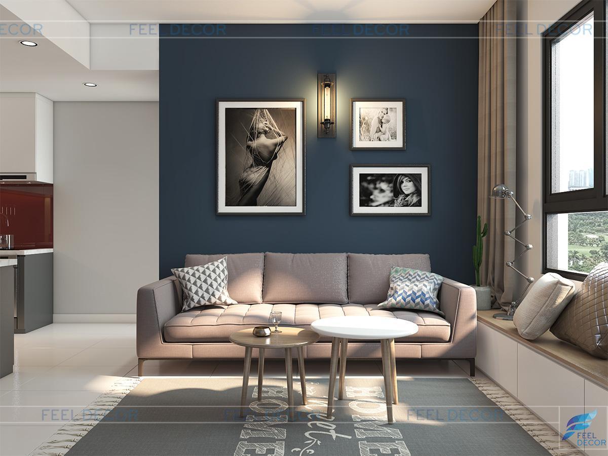 thiết kế phòng khách cho chung cư