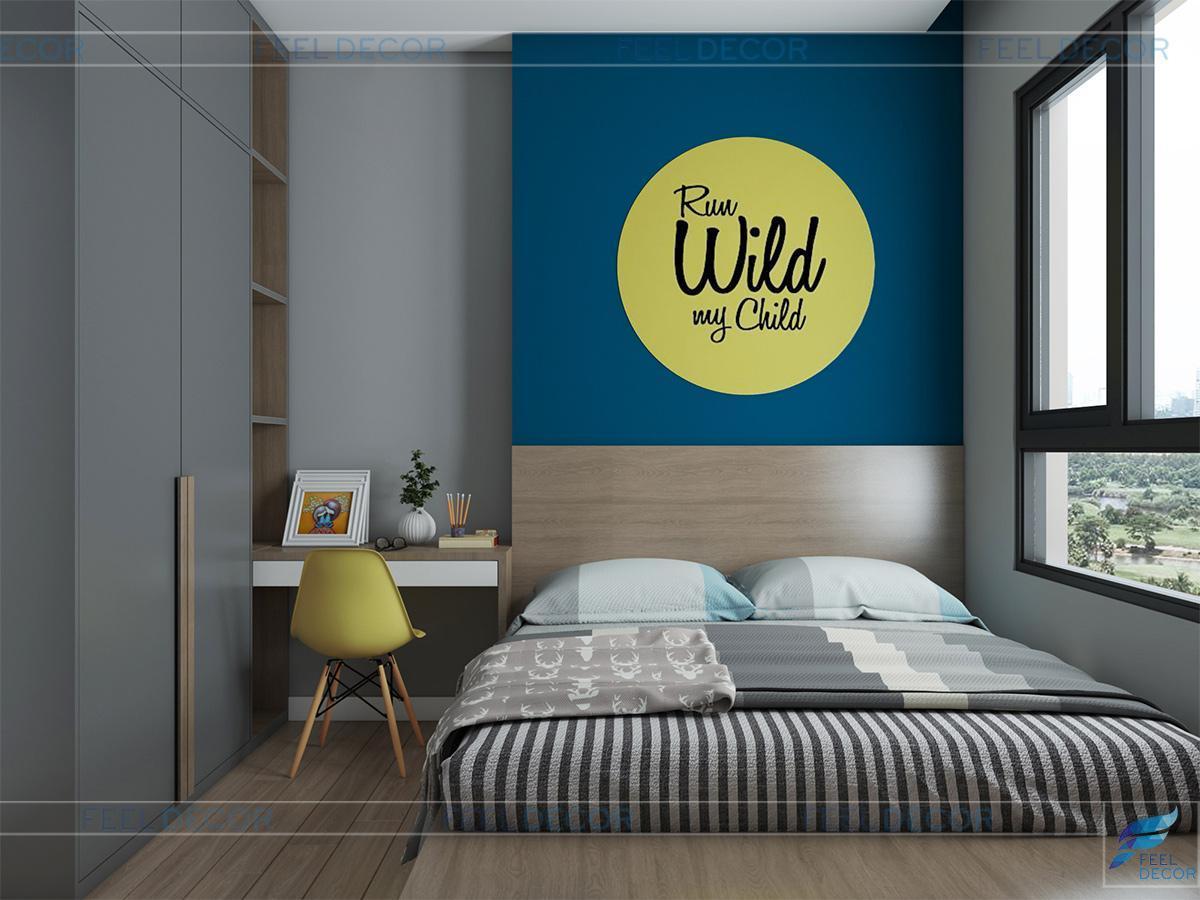 thiết kế phòng ngủ cho chung cư masteri