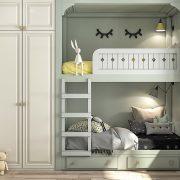Ý tưởng trang trí nội thất phòng ngủ tuyệt đẹp cho những cô con gái bé bỏng