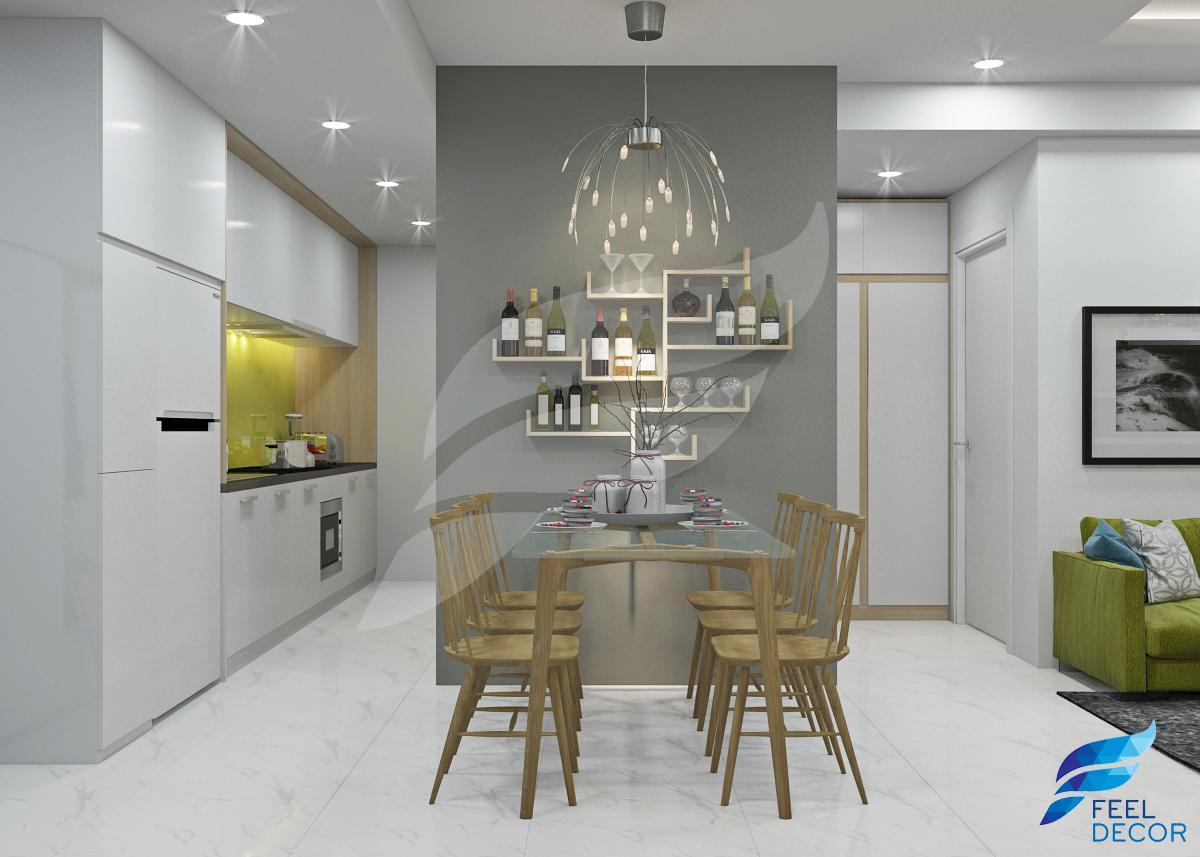 Hình ảnh: Thiết kế và thi công nội thất căn hộ 70m2 chung cư Masteri