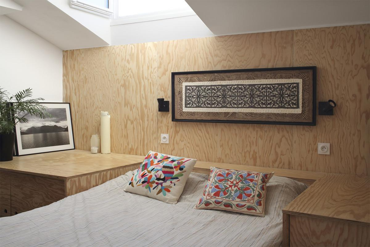 phòng ngủ căn hộ tiện nghi