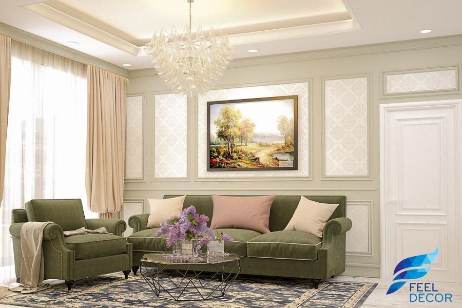 phòng khách sofa