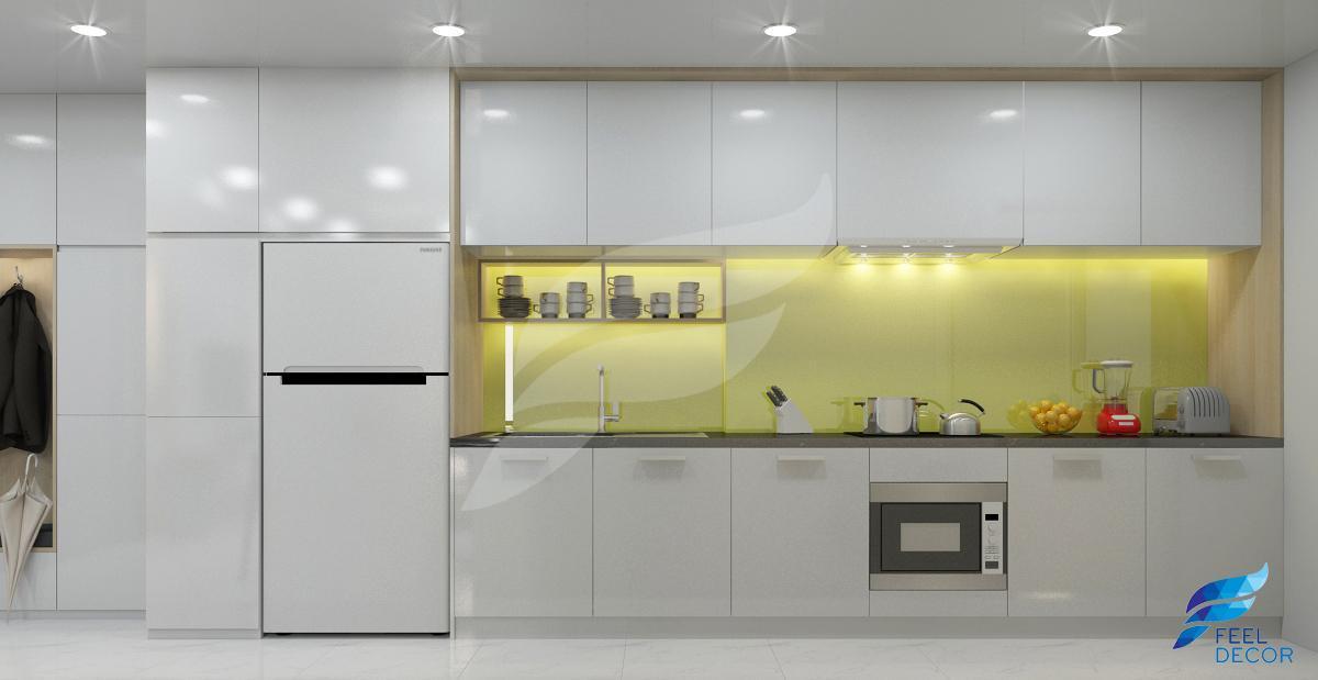 Nội thất căn hộ 70m2 chung cư cao cấp Masteri