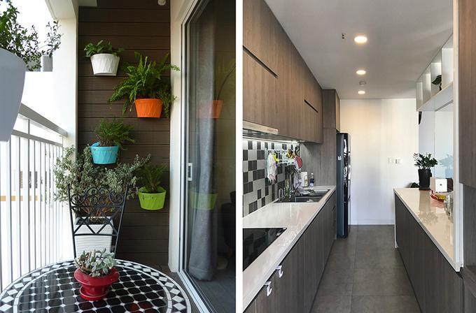 Hình ảnh: thiết kế nội thất phòng đọc sách thu nhỏ trong căn hộ Scenic Valley