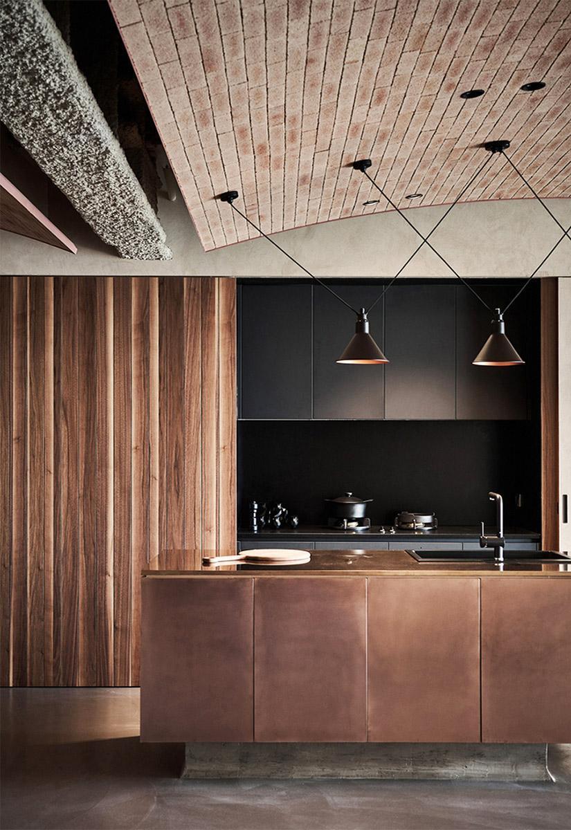 Trang trí nhà bếp bằng chất liệu tự nhiên