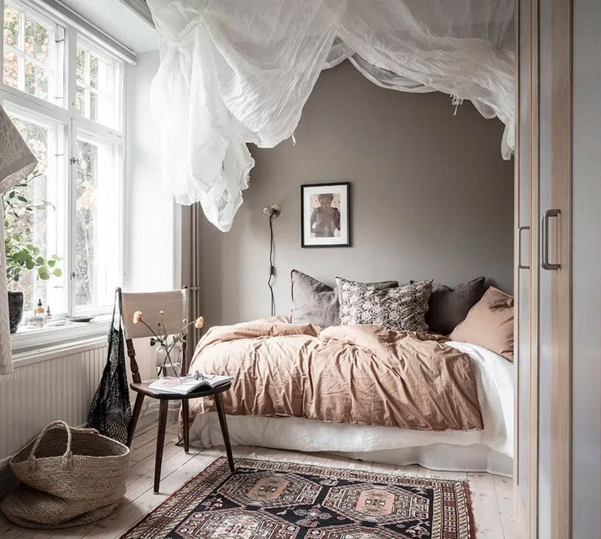 phòng ngủ Scandinavian