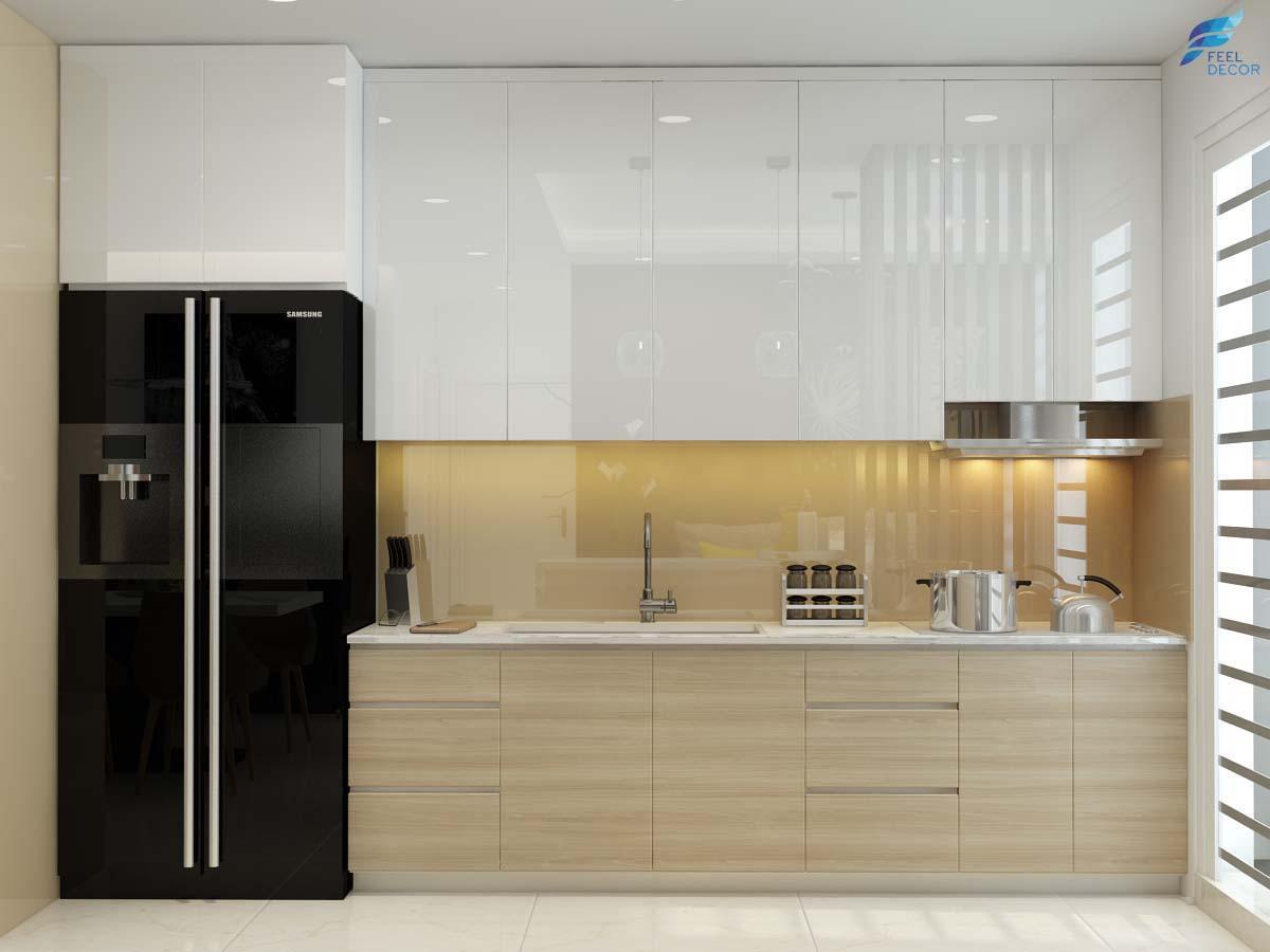 5 ý tưởng thiết kế nội thất phòng bếp nhỏ xinh hiện đại