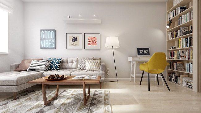 Scandinavian mdern interior design