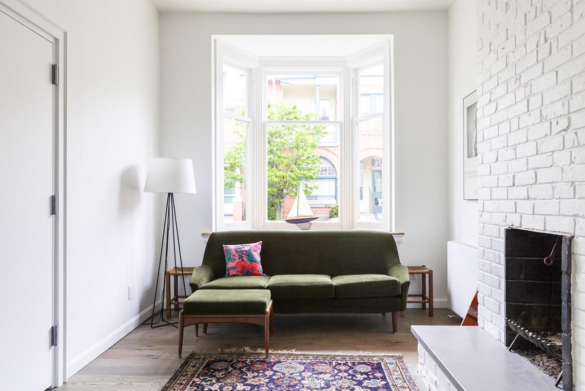 Thiết kế không gian nội thất phòng khách nhỏ đơn giản