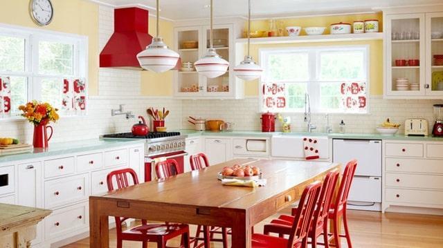các thiết kế nội thất phòng bếp