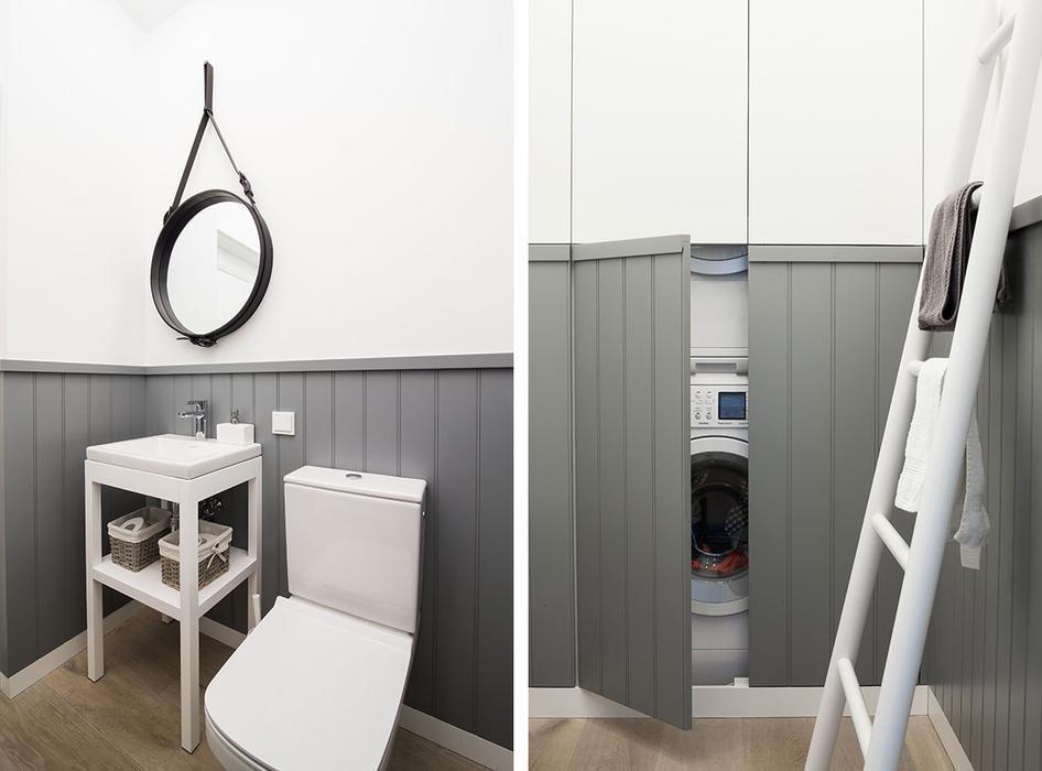 hình ảnh: thiết kế nội thất căn hộ theo phong cách Scandinavian nhẹ nhàng lấy cảm hứng màu xanh lam