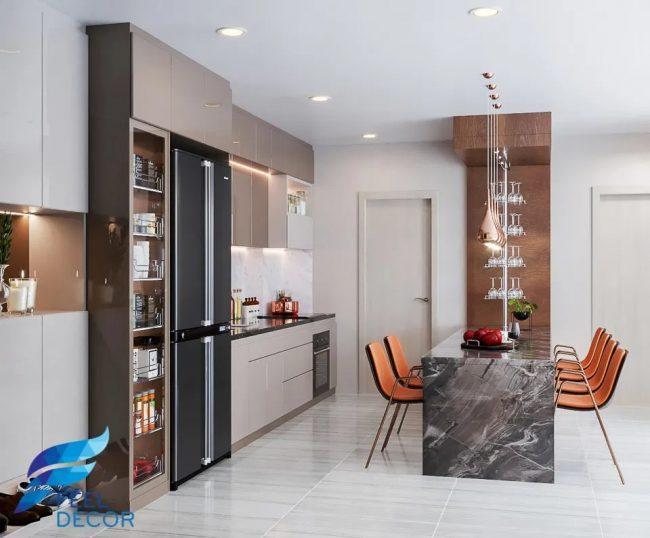căn phòng bếp đẹp