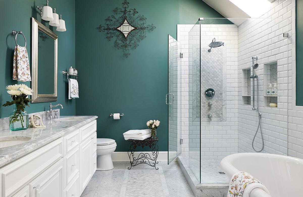 tone màu pastel cho phòng vệ sinh
