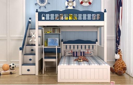 giường tầng tiết kiệm không gian
