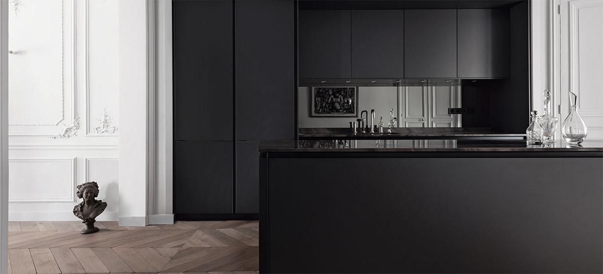 không gian nấu nướng