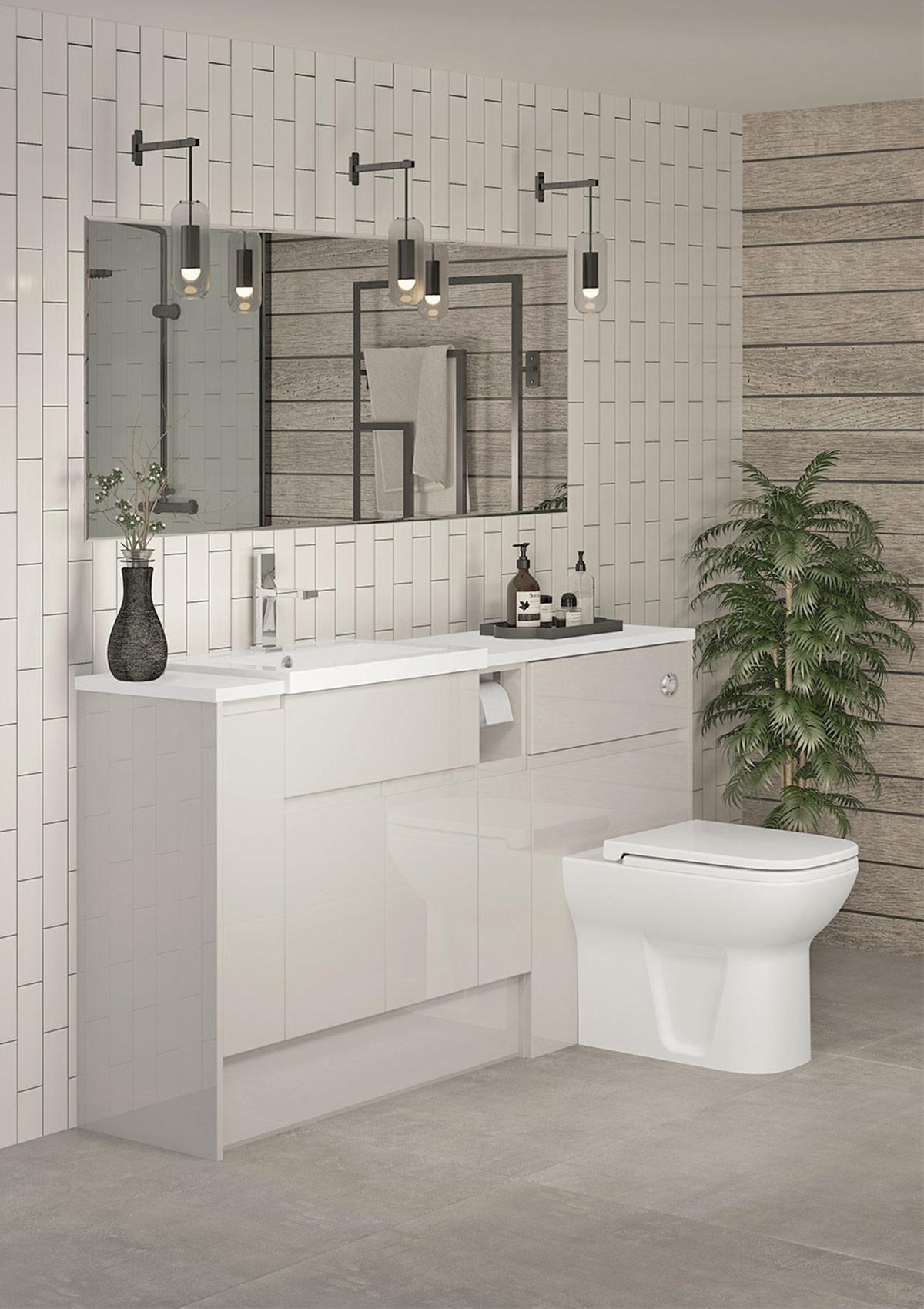 thiết kế nội thất phòng tắm đẹp