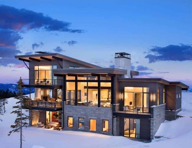 nhà ở vùng đất scandinavian