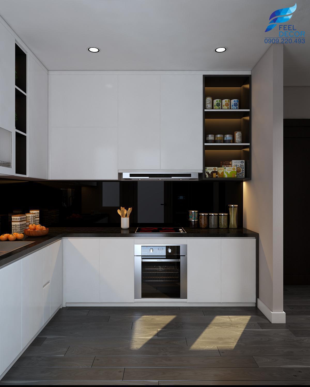 Hình ảnh: Ý tưởng thiết kế nội thất phòng bếp đẹp theo phong cách hiện đại