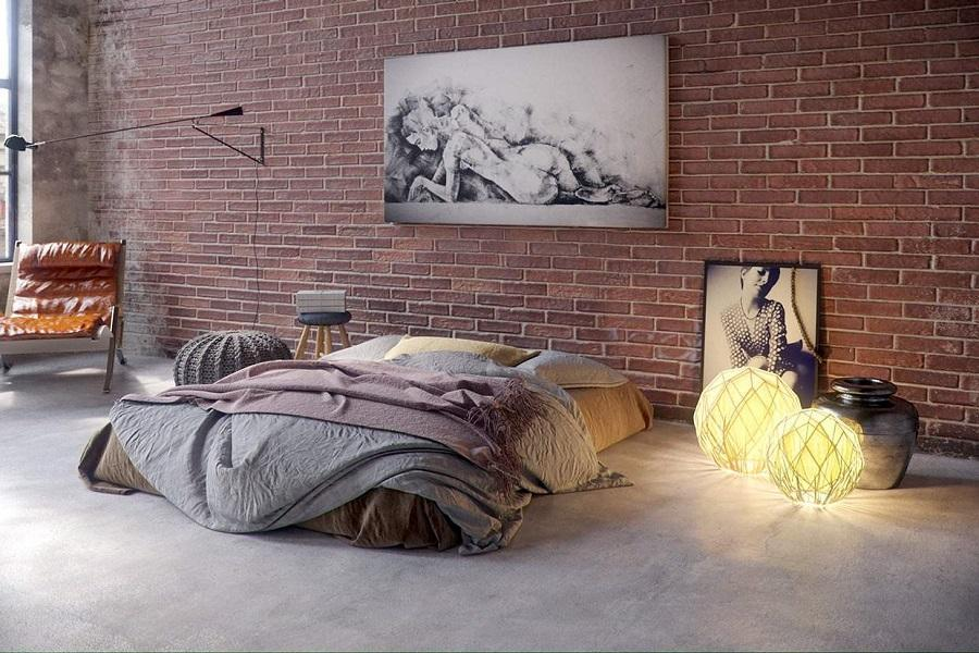 phòng không giường