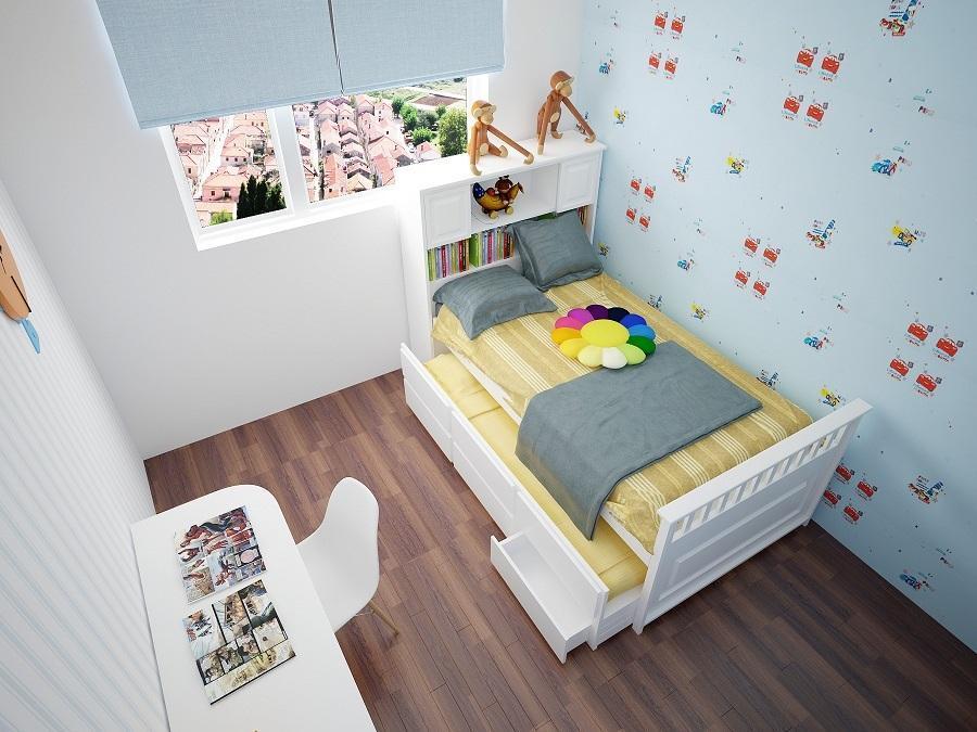 phòng ngủ sinh động