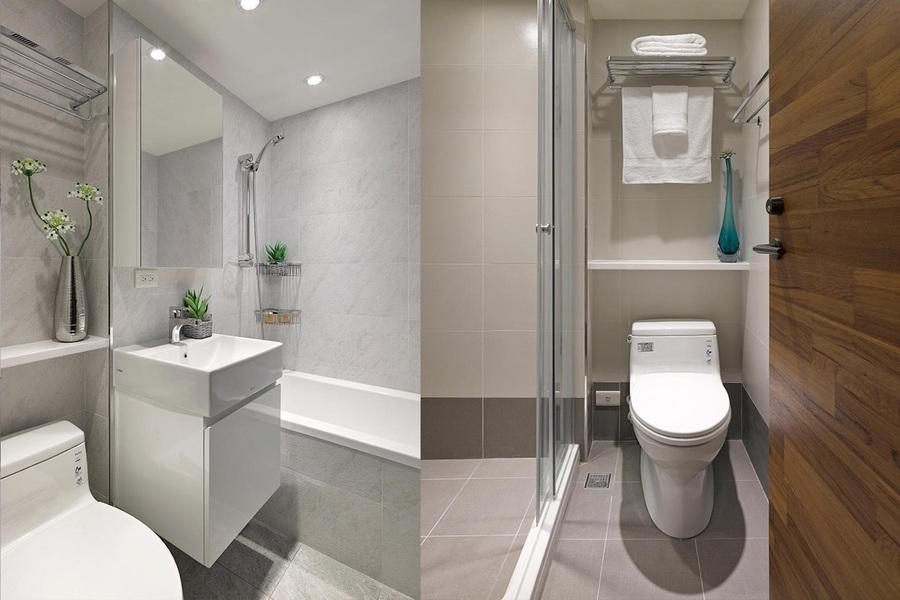 phòng vệ sinh chung cư