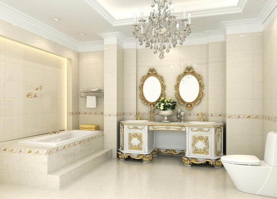 phòng vệ sinh cổ điển