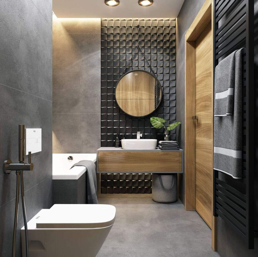 phòng vệ sinh nhỏ