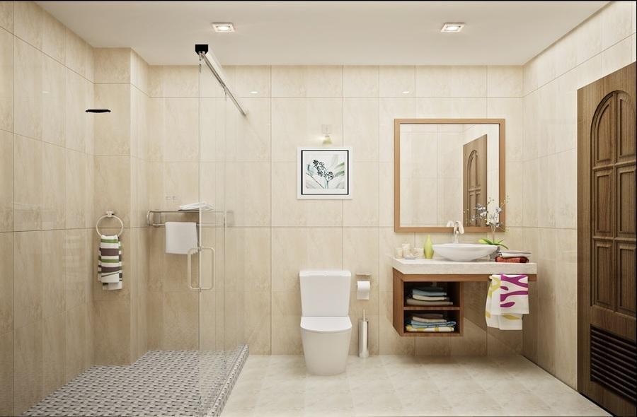 phòng vệ sinh rộng