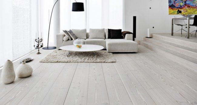 sàn nhà phong cách scandinavian