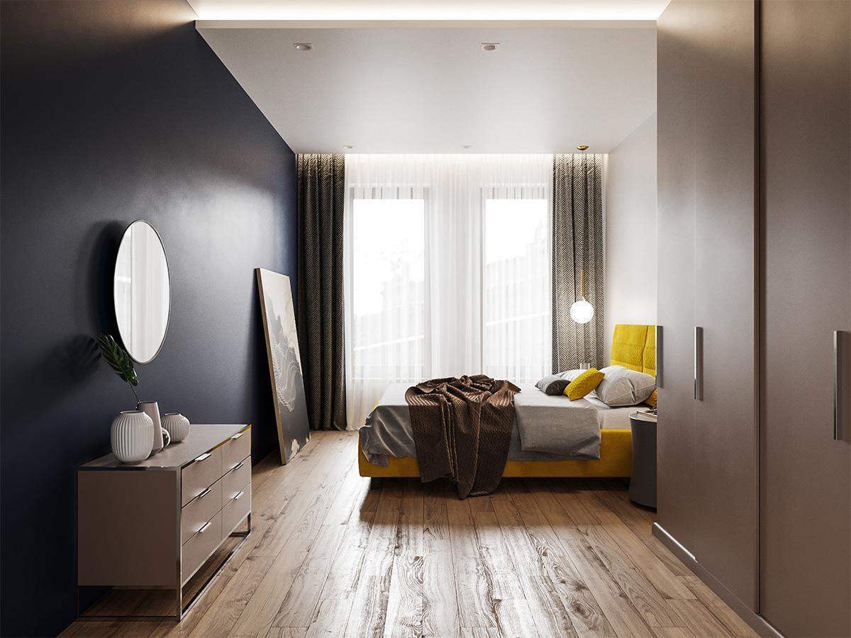 Không gian phòng ngủ trẻ em căn hộ theo phong cách minimalism
