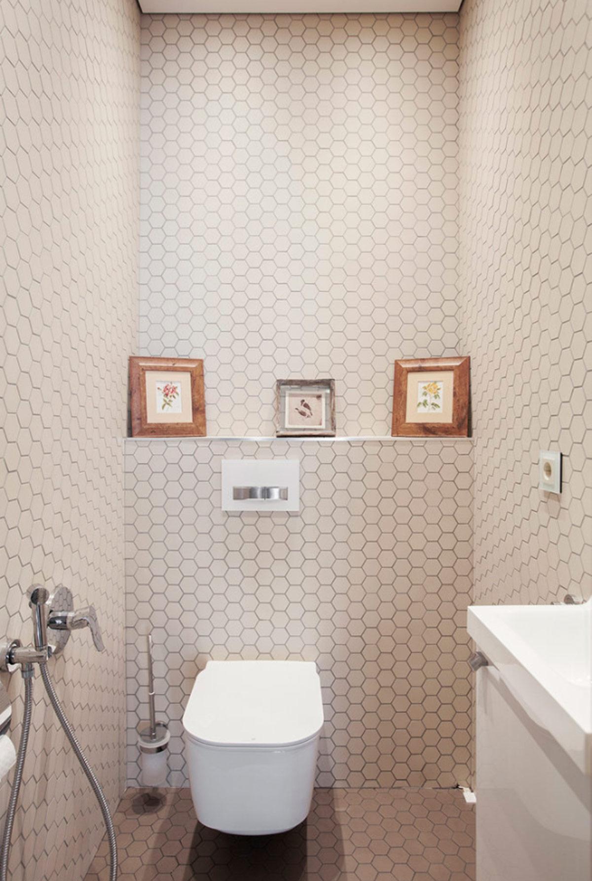 Không gian phòng vệ sinh