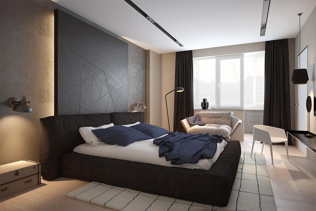 Thiết kế nội thất nhà ở theo chủ nghĩa Minimalism với 2 gam màu trắng đen