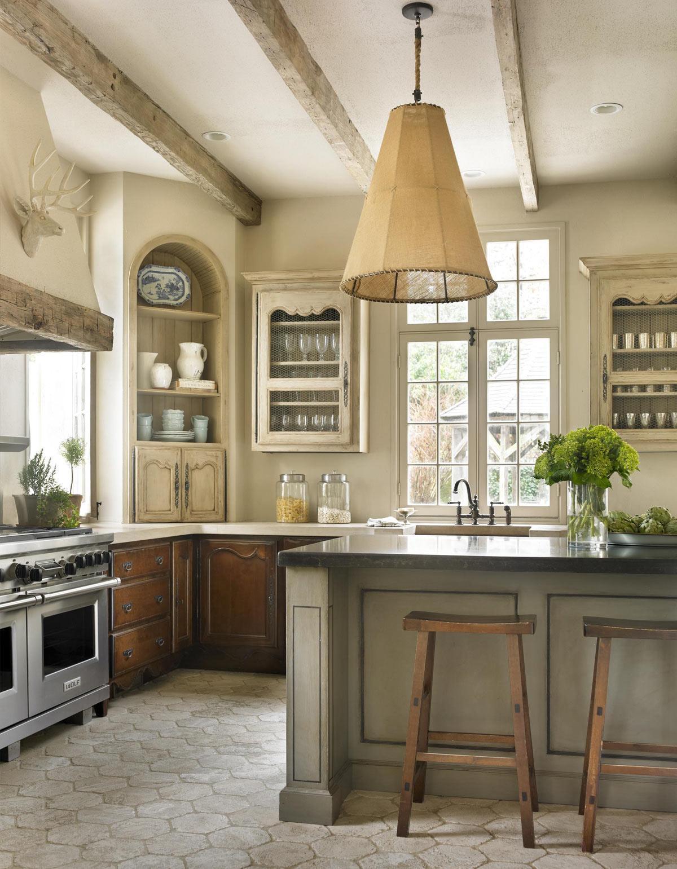 Màu xám trong thiết kế nội thất nhà bếp