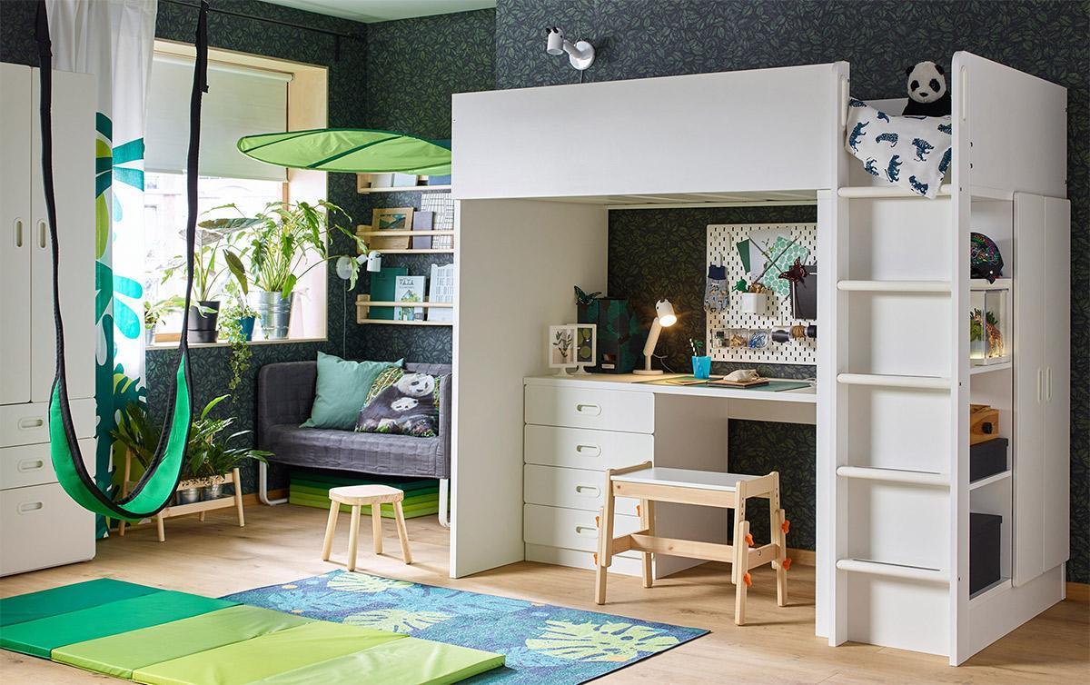 Thiết kế nội thất phòng ngủ cho bé đẹp đến mức người lớn cũng phải xuýt xoa