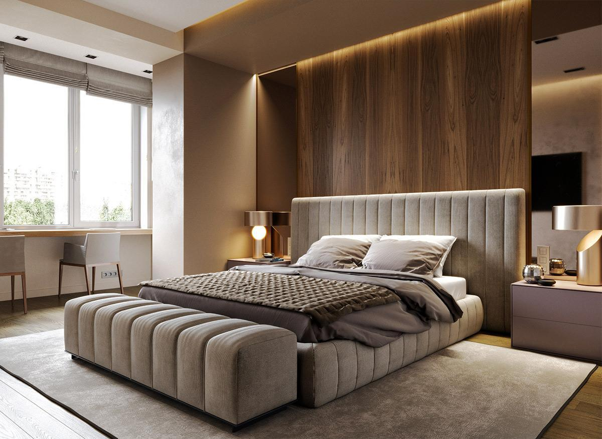 phòng ngủ độc đáo, đẹp mắt
