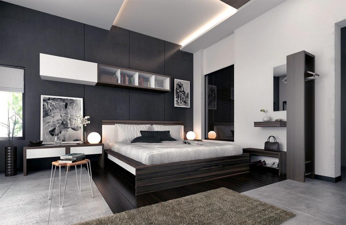 Phòng ngủ rộng, sang trọng và đầy hiện đại
