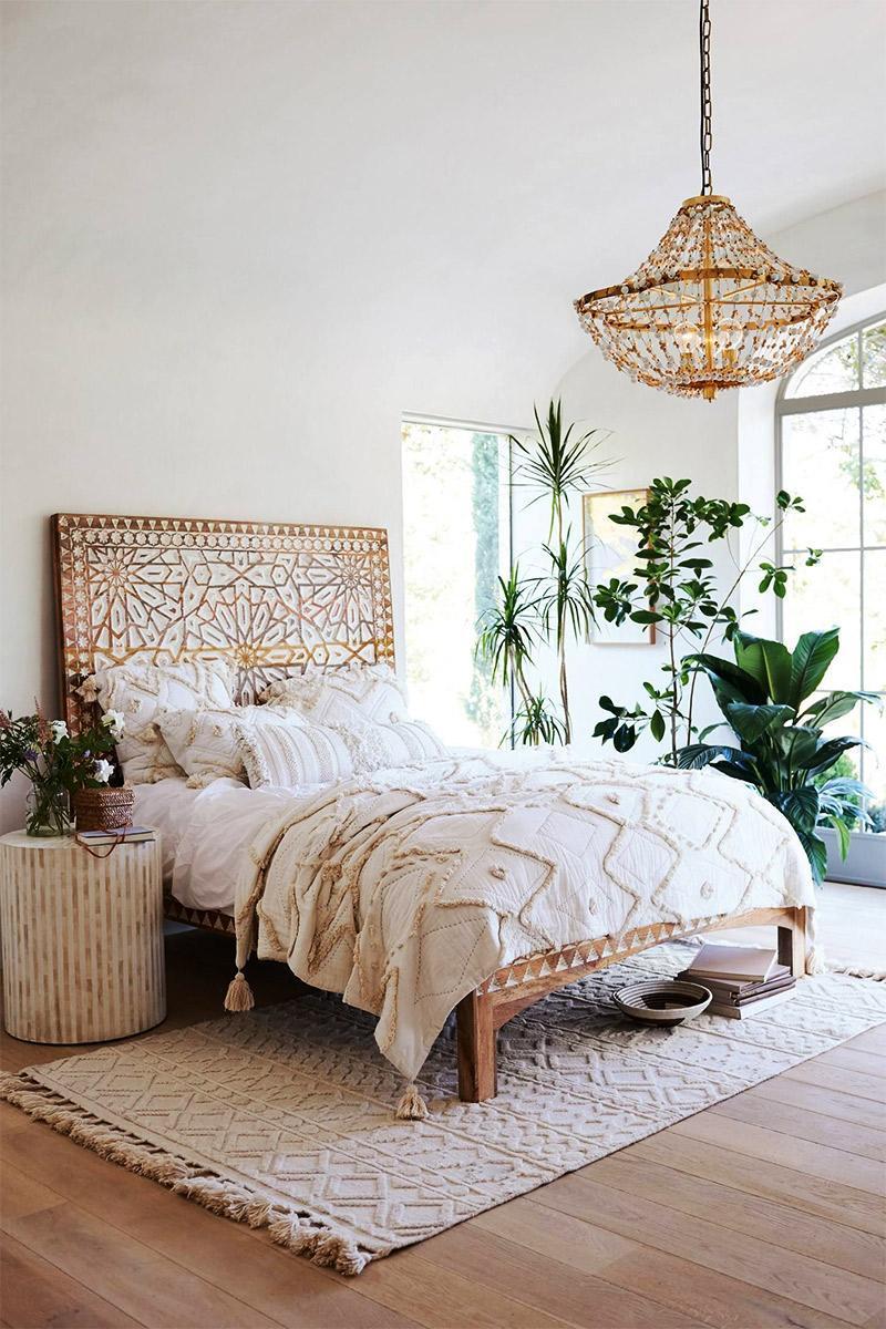 giường ngủ hiện đại, tiện nghi