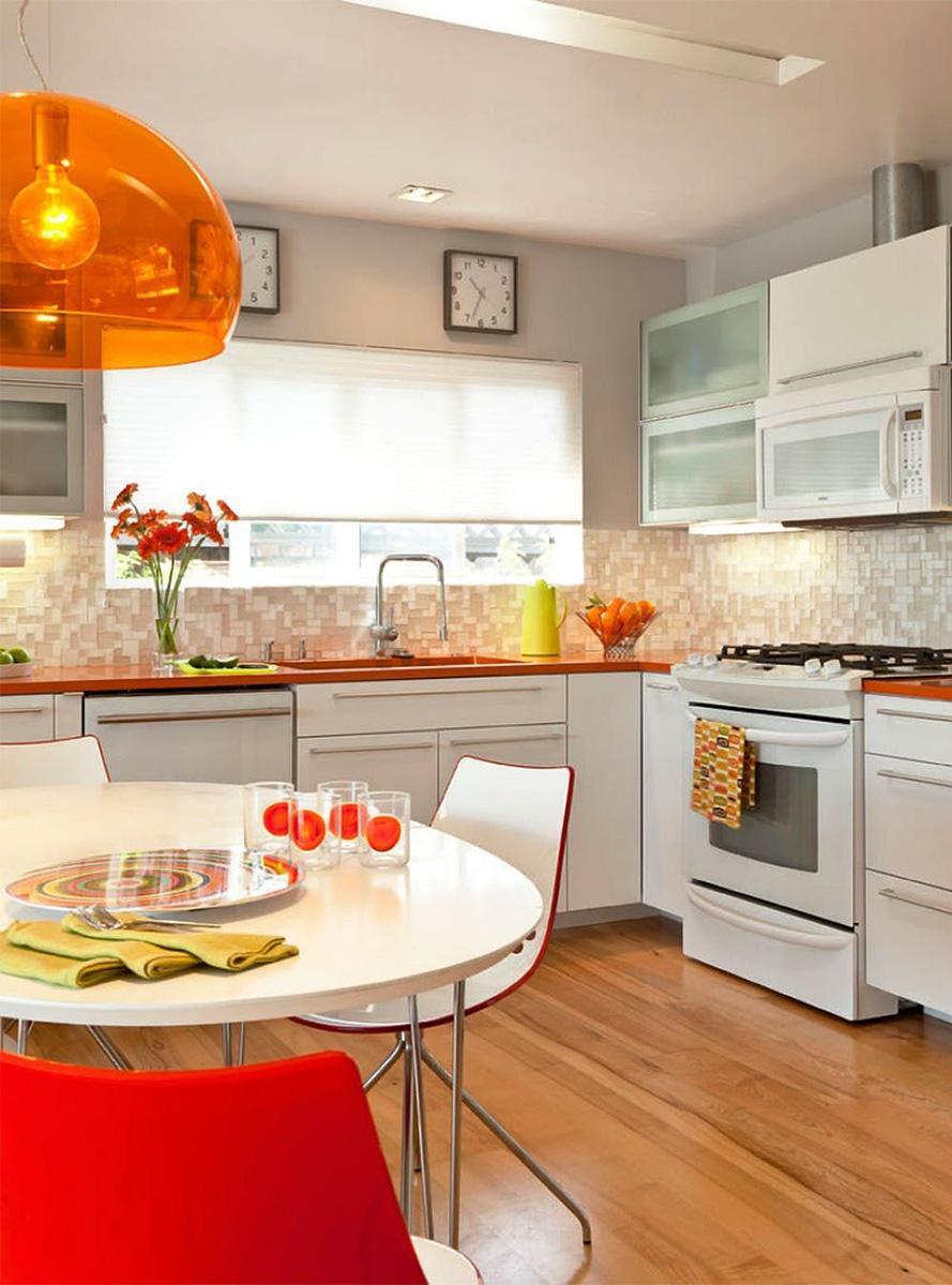 không gian bếp đẹp mắt, độc đáo