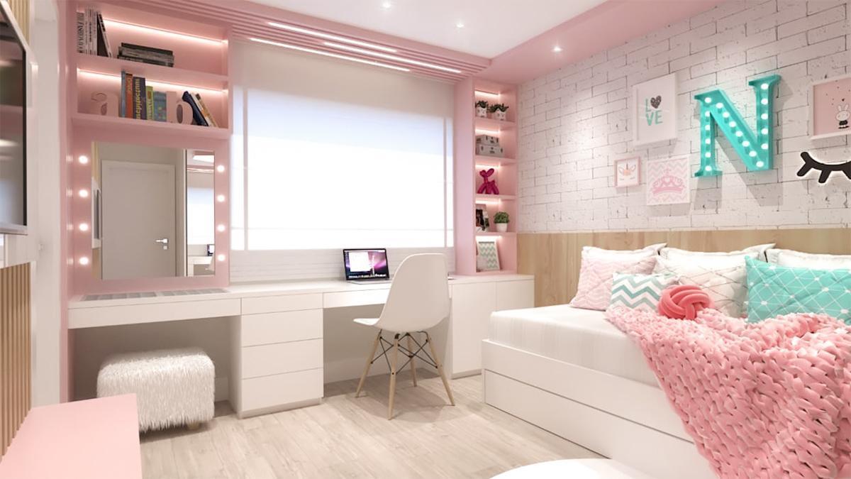 phòng ngủ trẻ em năng động