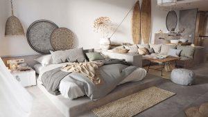 thiết kế thi công nội thất phòng ngủ không giường