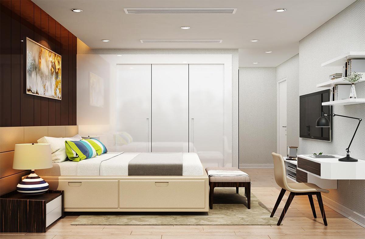 giường ngủ tiện nghi hiện đại