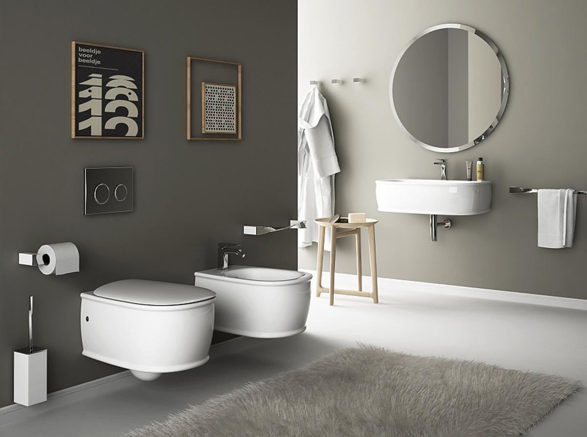 Ý tưởng thiết kế nội thất phòng vệ sinh đơn giản