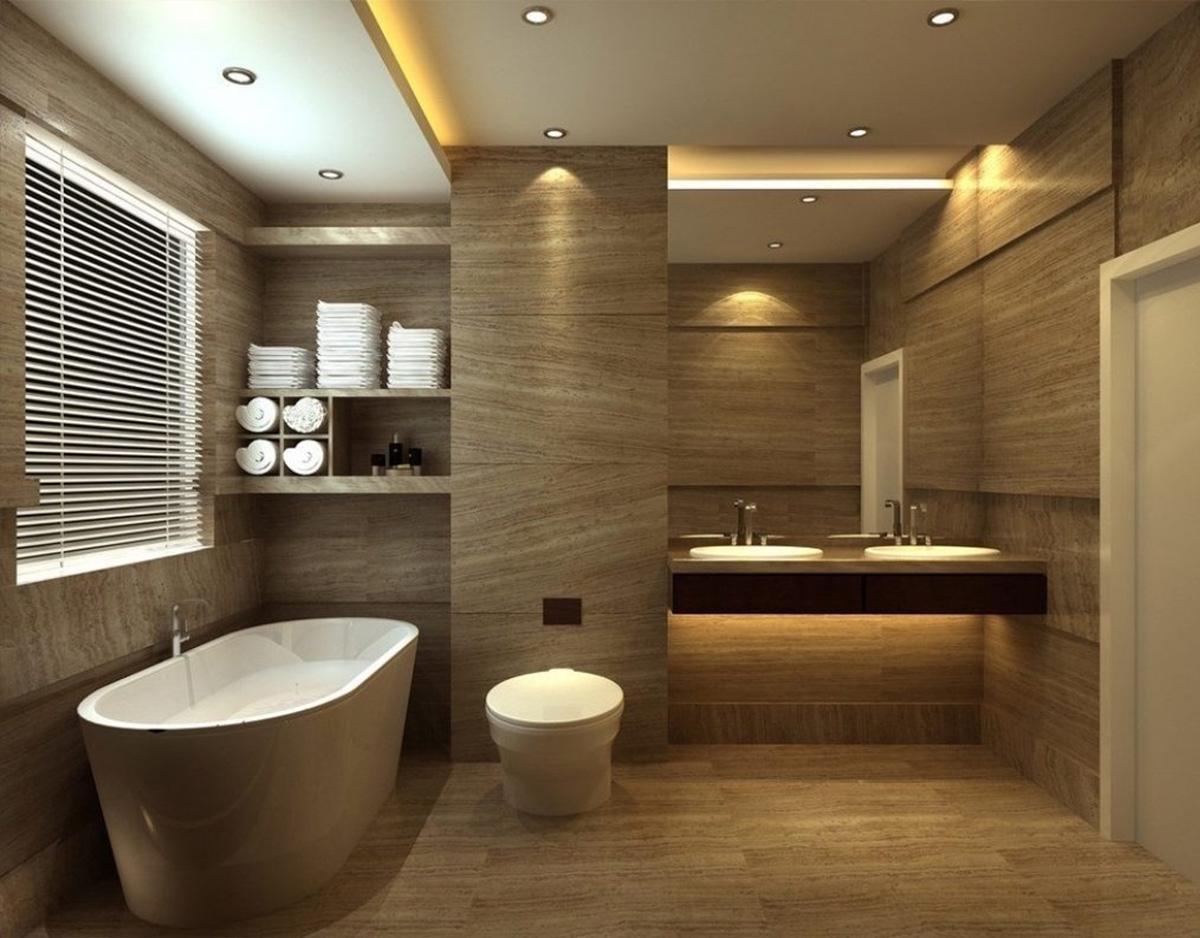 Ý tưởng thiết kế nội thất phòng vệ sinh